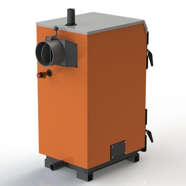 Фото - 3 Котел твердопаливний KOTLANT cерії КГ-15 з механічним регулятором тяги