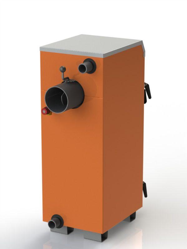 Фото - 3 Котел твердотопливный KOTLANT серии КН-15 с автоматикой и вентилятором