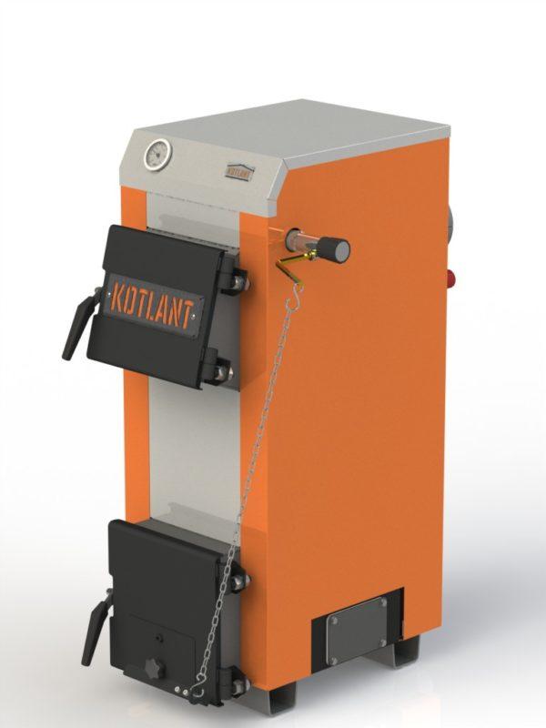 Фото - 5 Котел твердотопливный KOTLANT серии КН-15 с автоматикой и вентилятором