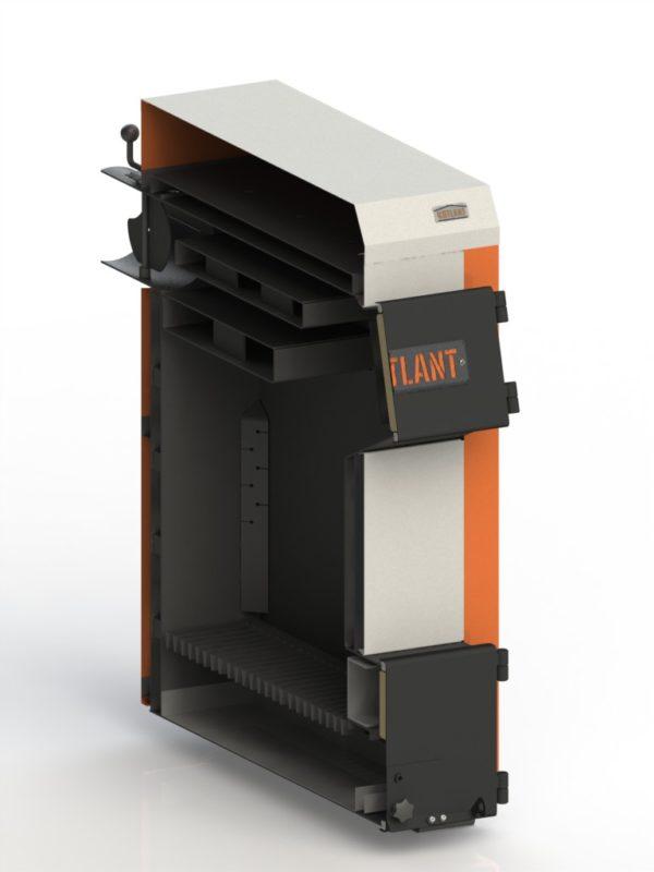 Фото - 4 Котел твердотопливный KOTLANT серии КН-15 с механическим регулятором тяги