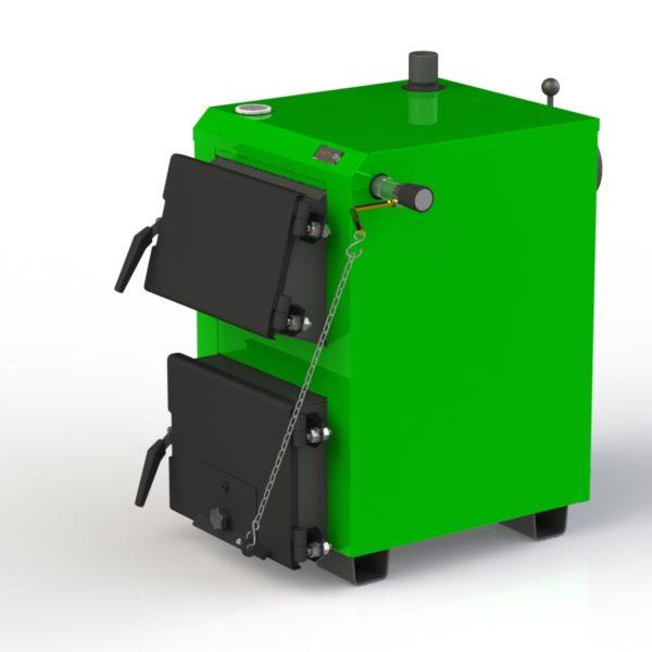 Фото - 2 Котел твердопаливний KOTLANT серії KO-15 з механічним регулятором