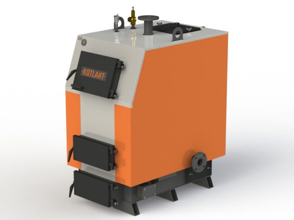 Фото - 5 Котел твердотопливный KOTLANT серии КВ-65 с автоматикой и вентилятором