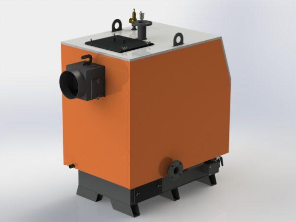 Фото - 3 Котел твердотопливный KOTLANT серии КВ-65 с автоматикой и вентилятором