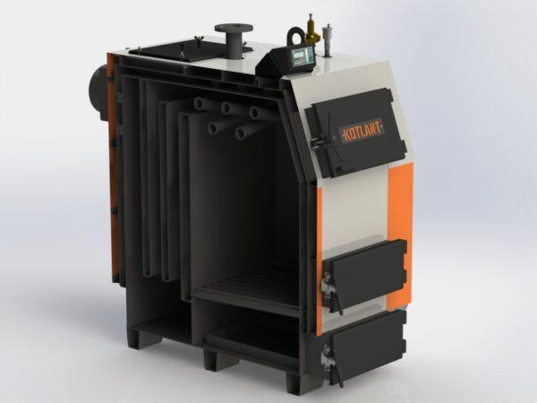 Фото - 4 Котел твердопаливний KOTLANT серії КВ-80 з zPiD автоматикою та вентилятором