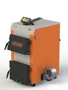 Фото - 6 Котел твердотопливный KOTLANT серии КН-15 с автоматикой и вентилятором