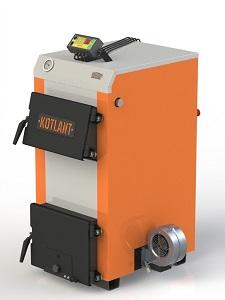 Фото - 2 Котел твердотопливный KOTLANT серии КН-18 с автоматикой и вентилятором