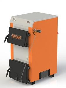 Фото - 2 Котел твердопаливний KOTLANT серії КН-18 з механічним регулятором тяги