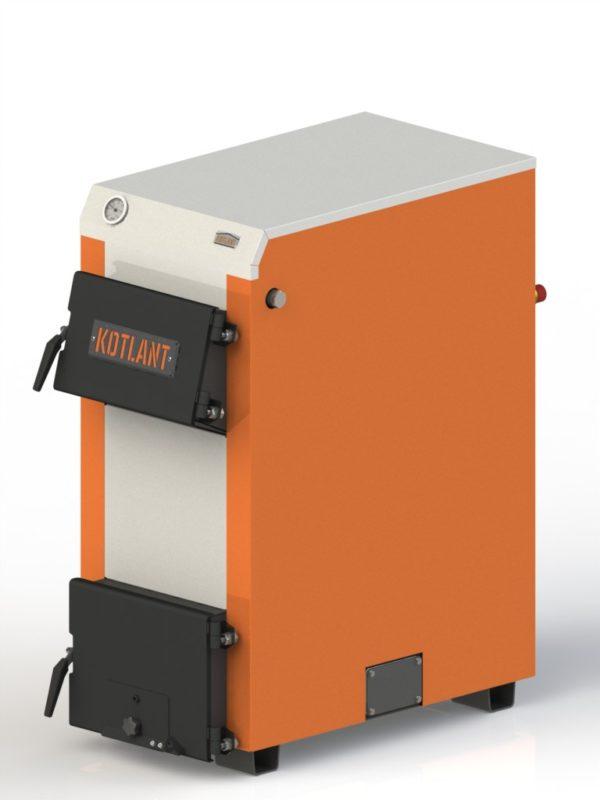 Фото - 5 Котел твердопаливний KOTLANT серії КН-24 з автоматикою та вентилятором