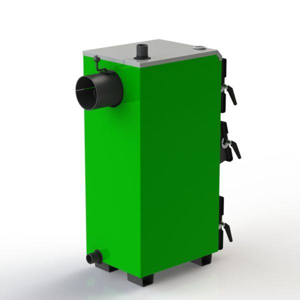 Фото - 4 Котел твердотопливный KOTLANT серии KO-14-3Д с автоматикой и вентилятором