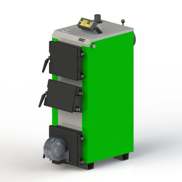 Фото - 2 Котел твердотопливный KOTLANT серии KO-14-3Д с автоматикой и вентилятором