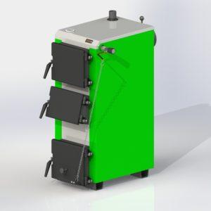 Фото - 6 Котел твердотопливный KOTLANT серии KO-14-3Д с механическим регулятором