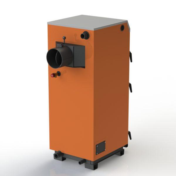 Фото - 3 Котел твердопаливний KOTLANT cерії КГ-30 з механічним регулятором
