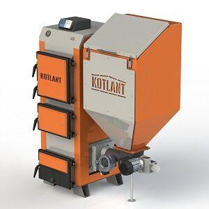 Котлы на твердом топливе KOTLANT серии КГП 18-50 кВт