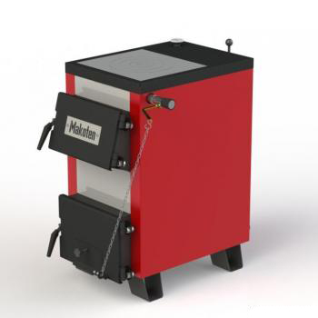 Фото - 2 Котел з плитою Makoten MIX КТ-15 з механічним регулятором тяги