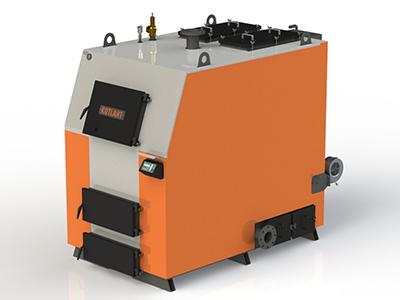 Фото - 2 Котел твердопаливний KOTLANT серії КВ-250 з автоматикою zPiD та вентилятором